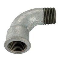 GF1A-14 1/4inch BSP George Fisher Equal 90° Bends,...