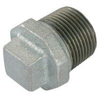 GF290-34 3/4inch BSP George Fisher Hollow Plugs, Fig. 290 - Galvanised
