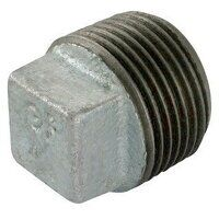 GF291-1 1inch BSP George Fisher Hollow Plugs, Fig. 291 - Galvanised