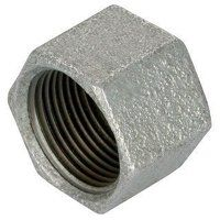 GF300-212 2.1/2inch George Fisher Caps, Hexagonal,...
