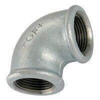 GF90-38 3/8inch BSP George Fisher Equal 90° Elbows, Fig. 90 - Galvanised