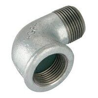 GF92-114 1.1/4inch BSP George Fisher Equal 90° Elbows, Fig. 92 - Galvanised