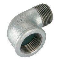 GF92-2 2inch BSP George Fisher Equal 90° Elbows, Fig. 92 - Galvanised