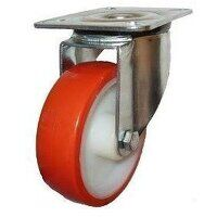 Heavy Duty Castors Polyurethane With Nylon Centre Wheels