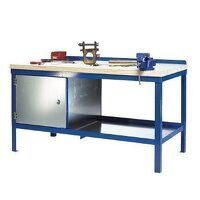 1800x600mm Heavy Duty Workbenches - Wood Top (1860WC)