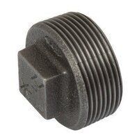 K-MI291-114N K-Line 1.1/4inch Plain Hollow Plugs, Fig. 147 - Black