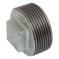 K-MI291-14 K-Line 1/4inch Plain Hollow Plugs, Fig. 147 - Galvanised