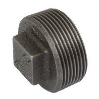 K-MI291-2N K-Line 2inch Plain Hollow Plugs, Fig. 147 - Black