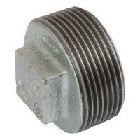 K-MI291-34 K-Line 3/4inch Plain Hollow Plugs, Fig. 147 - Galvanised