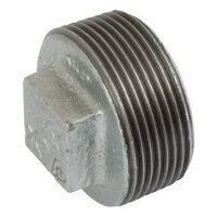 K-MI291-4 K-Line 4inch Plain Hollow Plugs, Fig. 147 - Galvanised