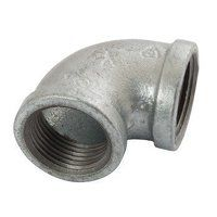 K-MI90-112 K-Line  Equal 90° Elbows, Fig. 151 - Galvanised