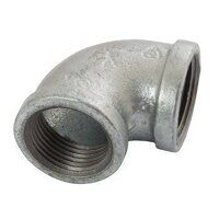K-MI90-1 K-Line  Equal 90° Elbows, Fig. 151 - Galvanised