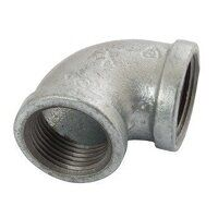 K-MI90-212 K-Line  Equal 90° Elbows, Fig. 151 - Galvanised