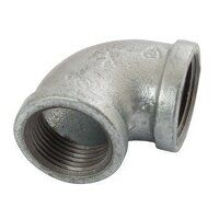 K-MI90-2 K-Line  Equal 90° Elbows, Fig. 151 - Galvanised