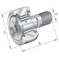 KR40-PP INA Track Roller Bearing