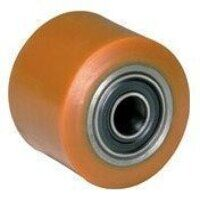 BZH8570WPTBJM20 Poly Tyre Steel Centre Pallet Roller with Bearing