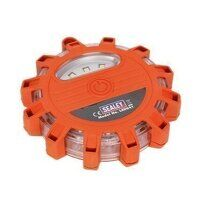 LED041 Sealey Rotating Warning Light 12 LED + 3 SM...