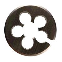 M10 x 0.75 MF x 1inch O/D HSS BS1127 Metric Fine Bright Circular Split Die