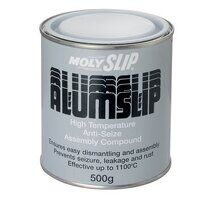 MOL-11005 Alumslip Anti-Seize Compound (500g Tin)