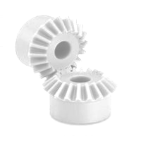 WPBM25/16 Metric White Hostaform® Mitre Gear