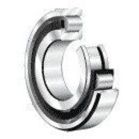 N215-E-M1-C3 FAG Cylindrical Roller Bearing (Brass Cage) 75mm x 130mm x 25mm
