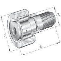 NUKRE80 INA Track Roller Bearing