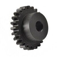 2.5 Mod x 18 Tooth Metric Spur Gear In Nylon 6