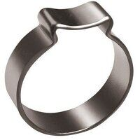 23012440 One Ear O-Clip - Stainless Steel 7-9mm