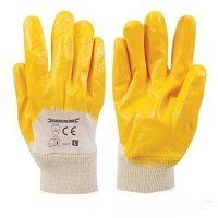 Open Back Interlock Nitrile Gloves (2824...
