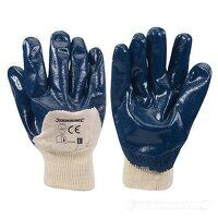 Open Back Jersey Lined Nitrile Gloves (2...