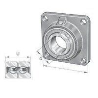 PCCJ35 35mm INA 4 Bolt Flanged Bearing