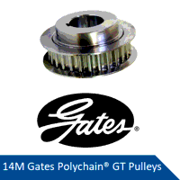 PCGT 14M-64S-37  PolyChain GT Sprocket/Pulley (Ple...