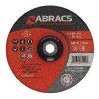 PHET17816FI Abracs 178mm x 1.6mm x 22mm F41 INOX Cutting Disc (Pack of 25)