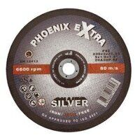 PHS11530DI 115mm x 3.0mm x 22mm F42 INOX Extra SILVER Cutting Disc (Pack of 25)