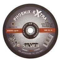 PHS17830DI Abracs 178mm x 3.0mm x 22mm F42 INOX Extra SILVER Cutting Disc (Pack of 25)