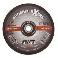 PHS23060DI Abracs 230mm x 6.8mm x 22mm F27 INOX Extra SILVER Cutting Disc (Pack of 25)