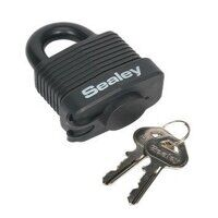 PL302W Sealey 54mm Steel Body Weatherproof Padlock