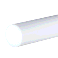 PTFE Rod 40mm dia x 250mm