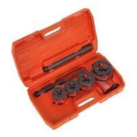 PTK991 Sealey 1/2 - 1-1/4inch BSPT Pipe Threading Kit