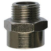 RL10/10 1/8inch to 1/8inch Male to Female Parallel Thread Adaptor