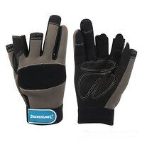 Part Fingerless Mechanics Glove - Medium (675288)