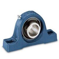 SY15FM SKF 15mm Bore Plummer Block with Eccentric ...