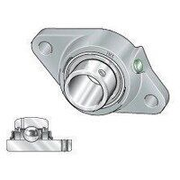 RCJTY15 15mm INA 2 Bolt Flanged Bearing