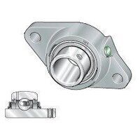 RCJTY17 17mm INA 2 Bolt Flanged Bearing