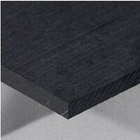 RG 1000 Black Sheet 500 x 500 x 25mm