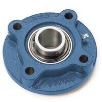 FYC35TF SKF 35mm 4 Bolt Round Flange Bearing with ...