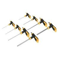 S01069 Sealey Siegen 8pc T-Handle Ball-End Hex Key Set