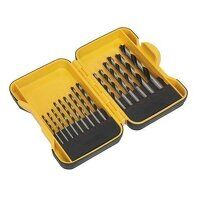 S01088 Sealey 15pc Wood Drill Bit Set