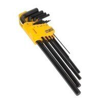 S01092 Sealey Siegen 9pc Extra-Long Metric Hex Key Set