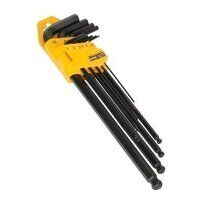 S01094 Sealey Siegen 9pc Extra-Long Metric Ball-End Hex Key Set